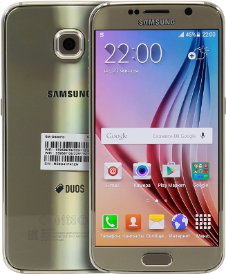 Galaxy S6 Duos 64Gb SM-G920FD